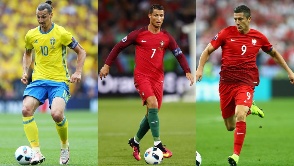 Cristiano Ronaldo Ibrahimovic Y Lewandowski Decepcionan En La Euro Saque De Meta