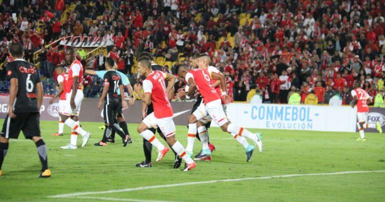 Con un penal errado, Santa Fe fue eliminado de la Sudamericana