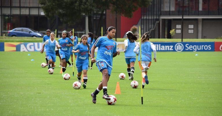 Sara Pulecio, y su debut con la selección Colombia sub20